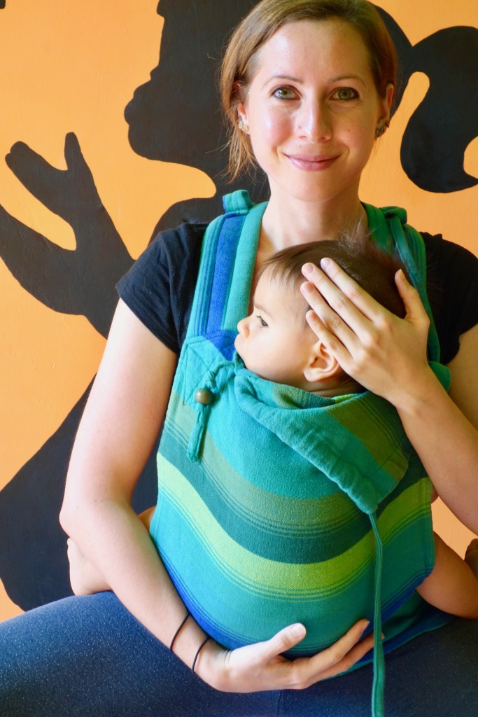 Yoga mit Baby im Tragetuch/ Trage